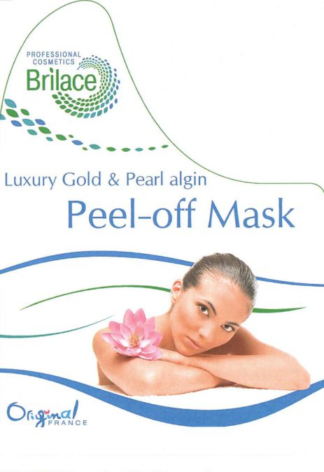Luxury Gold & Pearl algin peel-off mask