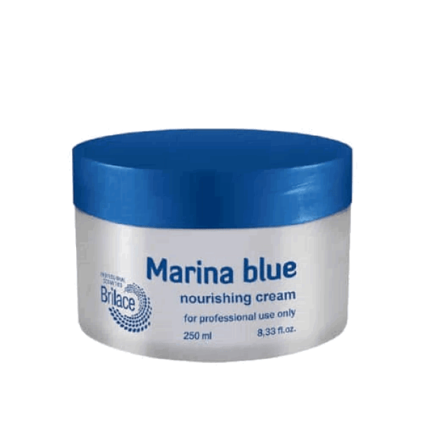 Marina blue cream