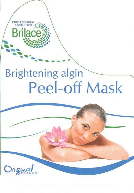 Brightening algin peel-off mask