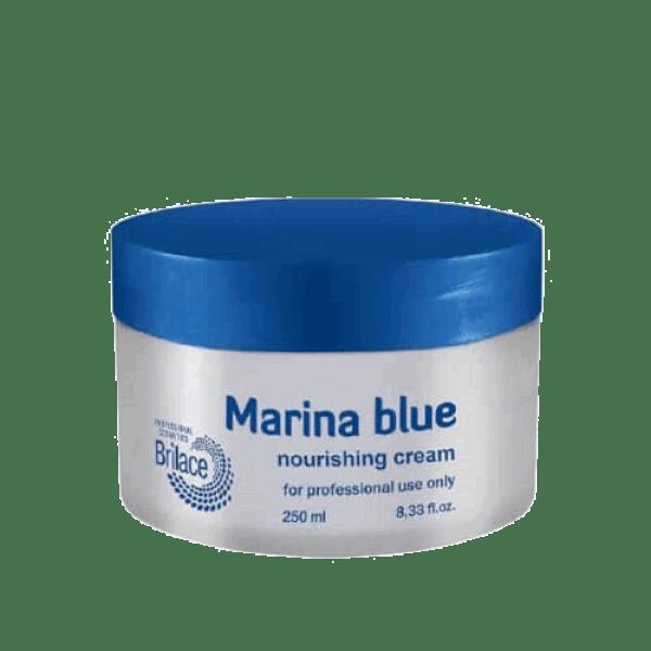 Marina blue cream
