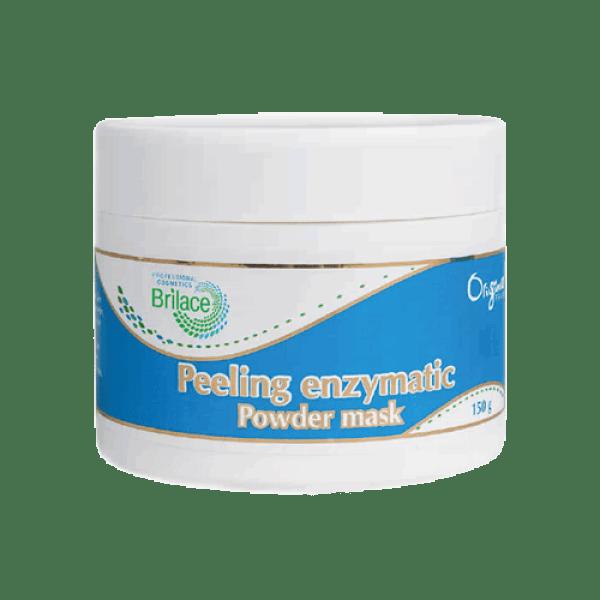 Peeling enzymatic powder mask