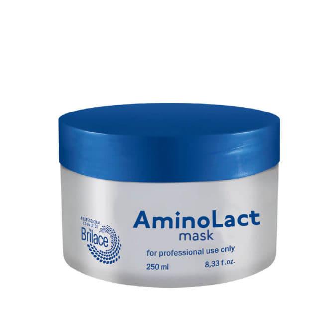 Masque enzymatique aux prot?ines de lait